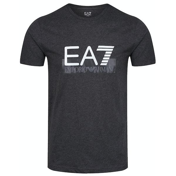 EA7 Cotton Koszulka z krótkim rękawem