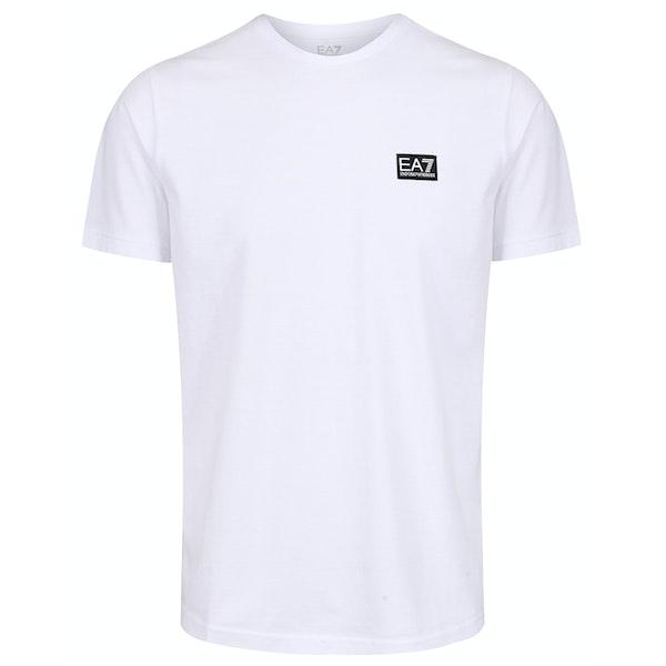 EA7 Cotton Kortermet t-skjorte