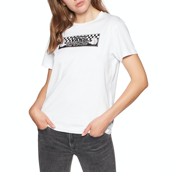 Vans Bmx Boyfriend Damen Kurzarm-T-Shirt