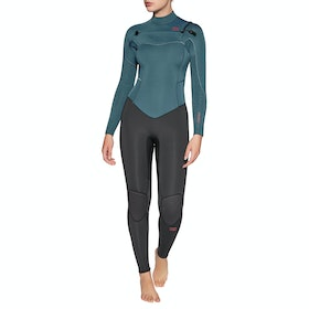 Billabong Furnace Synergy 5/4mm Chest Zip Wetsuit - Black Marine