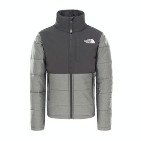 North Face Balanced Rock Insulated Boys Jacket - Tnf Medium Grey Heather
