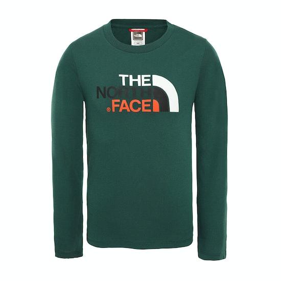 North Face Easy Kinderen T-Shirt Lange Mouwen