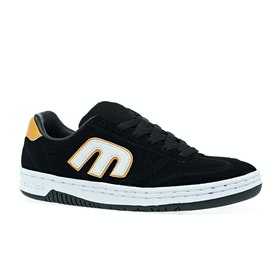 Chaussures Etnies Lo Cut - Black White Yellow
