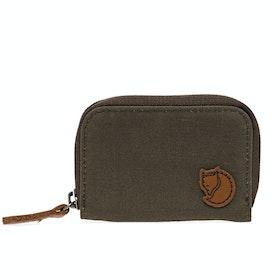 Fjallraven Zip Card Holder Wallet - Dark Olive