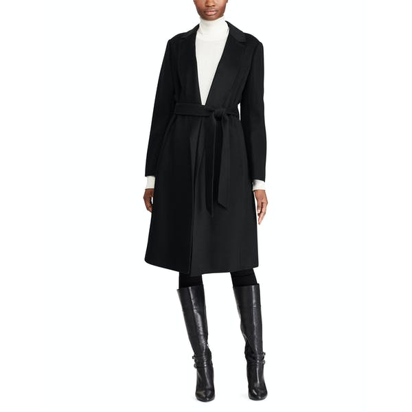 Ralph Lauren Double Face Wool Wrap Womens Bunda