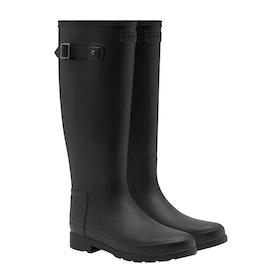 Stivali di Gomma Donna Hunter Original Refined - Monotone Black