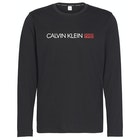 Calvin Klein Long Sleeved Crew Neck Top Loungewear Tops