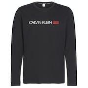 Calvin Klein Long Sleeved Crew Neck Top Loungewear
