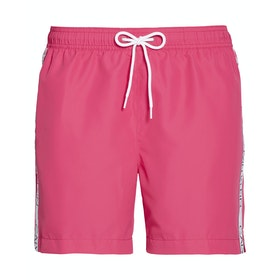 Calvin Klein Medium Drawstring Swim Shorts - Beetroot Purple