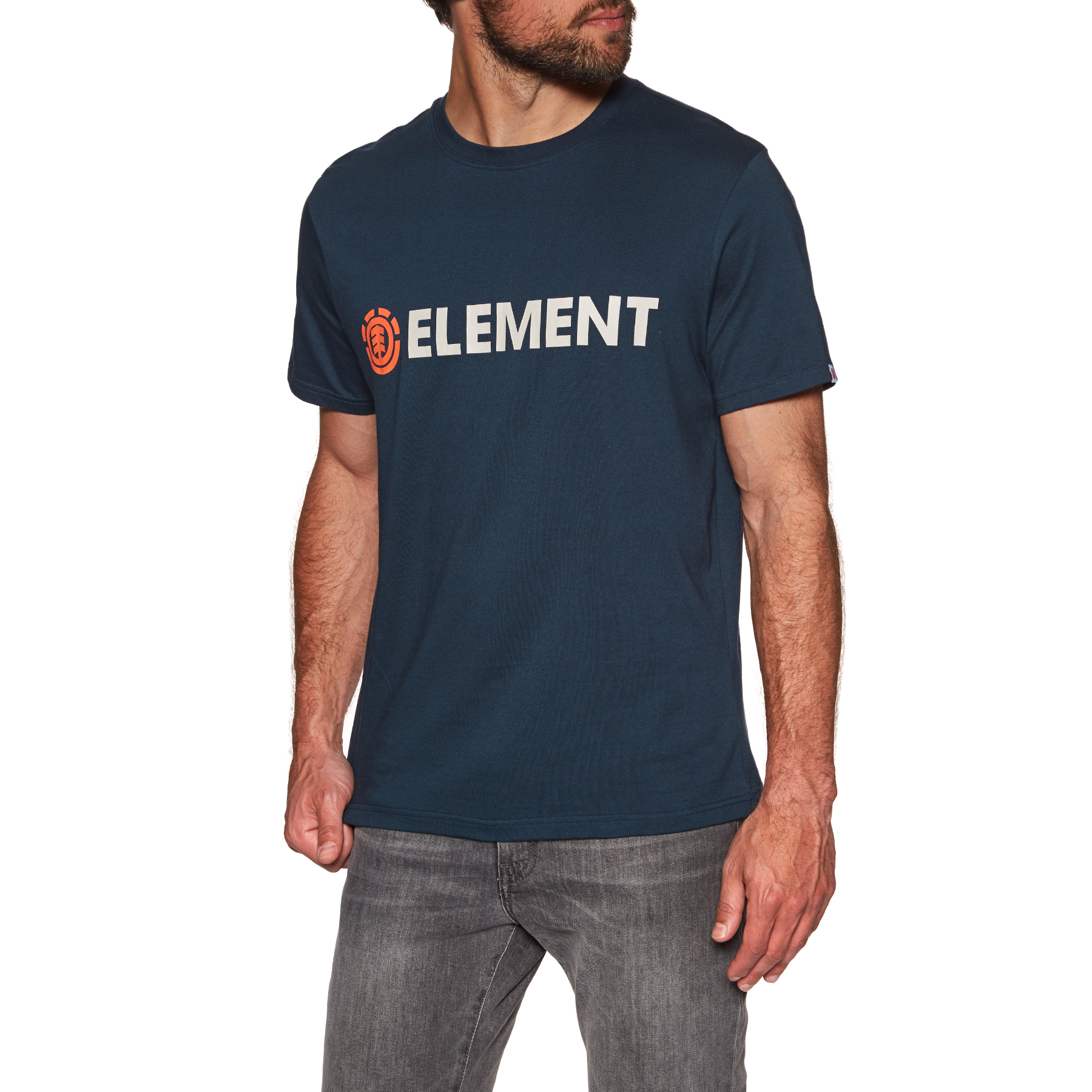 Element Blazin T-shirt Long Sleeve Red Clay All Sizes
