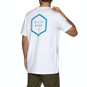 T-Shirt à Manche Courte Billabong Access Back - White