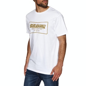 T-Shirt à Manche Courte Billabong Trade Mark - White
