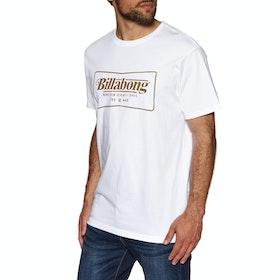 Billabong Trade Mark Short Sleeve T-Shirt - White