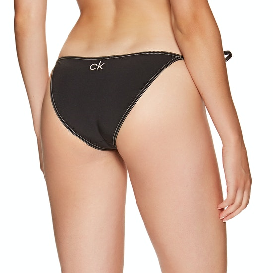 Calvin Klein String Side Tie Retro Womens Bikini Bottoms