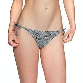 O'Neill Capri Bondey Mix Bikini Bottoms - Black AOP White