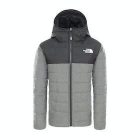 North Face Rev Perrito Boys Down Jacket - Tnf Medium Grey Heather