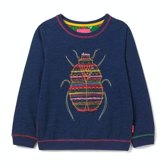 White Stuff Bella Beetle Jersey Girls Sweater