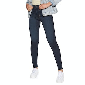 Jeans Femme Levi's Mile High Super Skinny - Echo Darkness