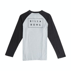 Billabong Die Cut Boys Long Sleeve T-Shirt - Black