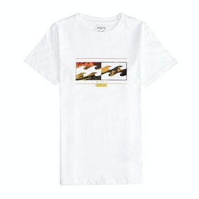 Billabong Inversed Boys Short Sleeve T-Shirt - White