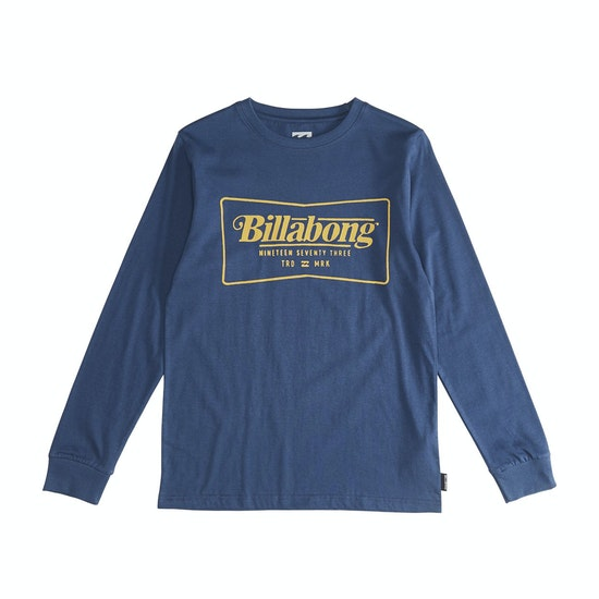 Billabong Trade Mark Boys Long Sleeve T-Shirt