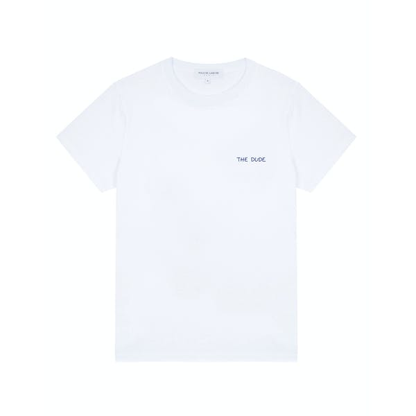Camiseta de manga corta Maison Labiche Heavy Shirt The Dude