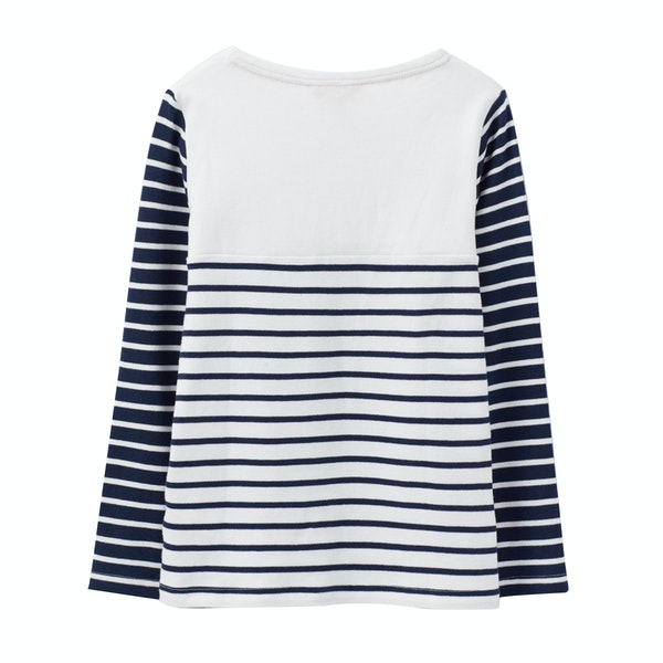 Joules Harbour Luxe Jersey Girl's Top