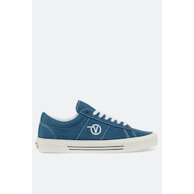 Vans Anaheim Sid Dx Shoes - Og Navy Suede