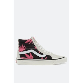 Vans Anaheim Sk8 Hi 38 Dx Shoes - Og White 0g Black Summer Leaf