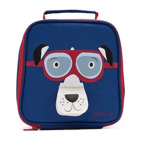 Joules Munch Boys Lunch Bag - Dark Blue Dog