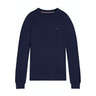 Tommy Hilfiger Track Long Sleeve Light Weight Knit Sweater