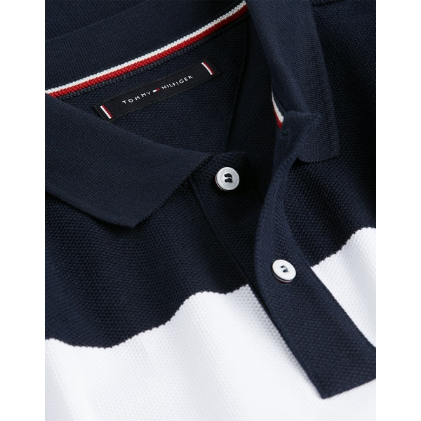 Tommy Hilfiger Global Colorblock Poloskjorte