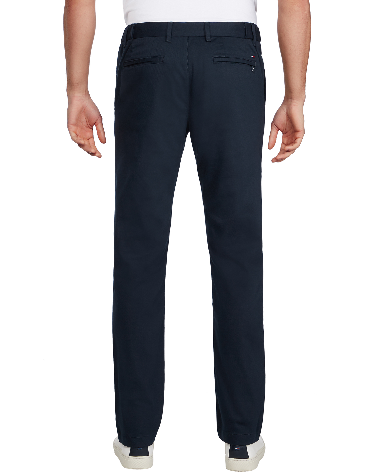 Tommy Hilfiger TH Flex Tapered Trousers Sky Captain