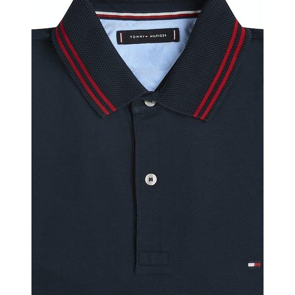 Tommy Hilfiger Tonal Textured Stripe Polo Shirt