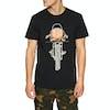 Deus Ex Machina Frontal Matchless T-Shirt Korte Mouwen - Black