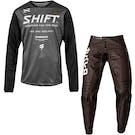 Shift Whit3 Label Muse Enduro & 3lack Caballero X Label Strike MX Motocross and Enduro Pan Motocross Kit Combos