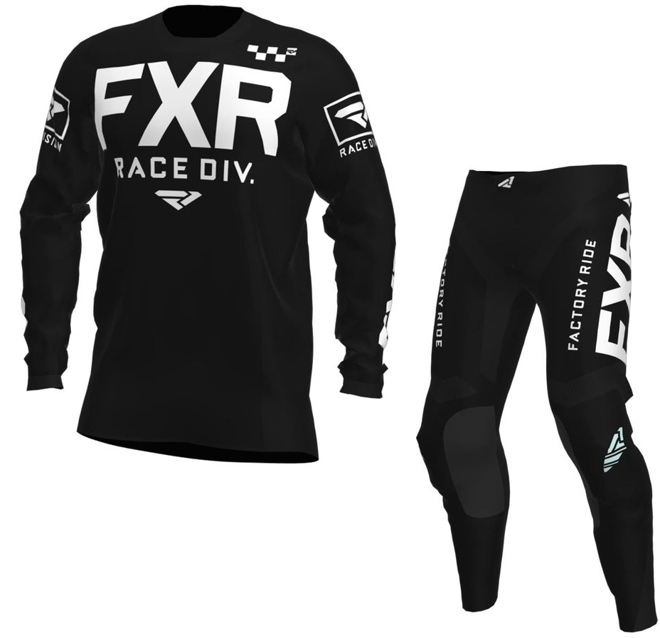 Black//White FXR 2020 Helium Jersey X-Small